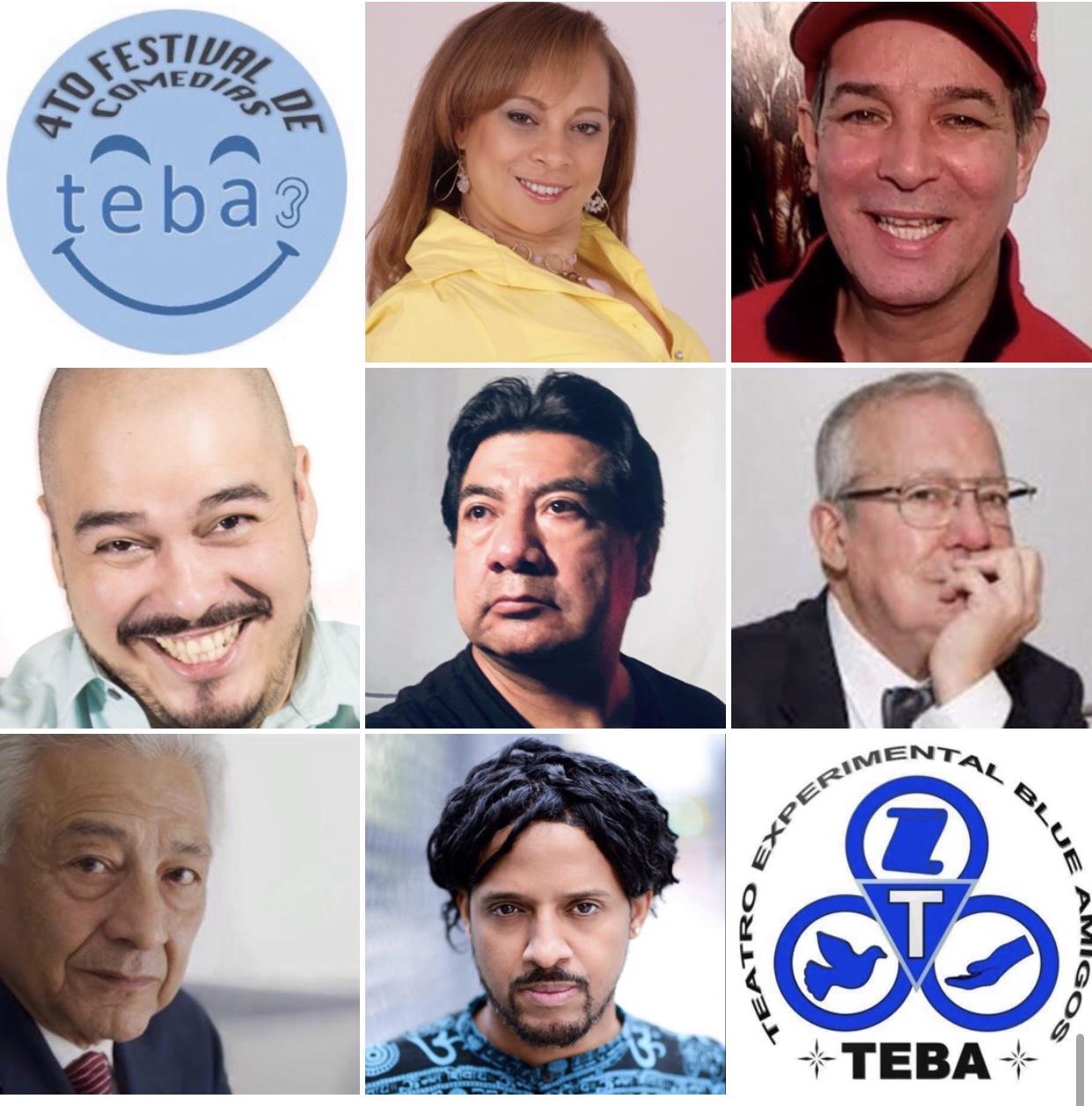 (Fior Marte, Raúl Rivera,  J Edgar Mozoub, Juan Guzmán, Manolo García  Oliva, Carlos Navedo, Emir Cruz)